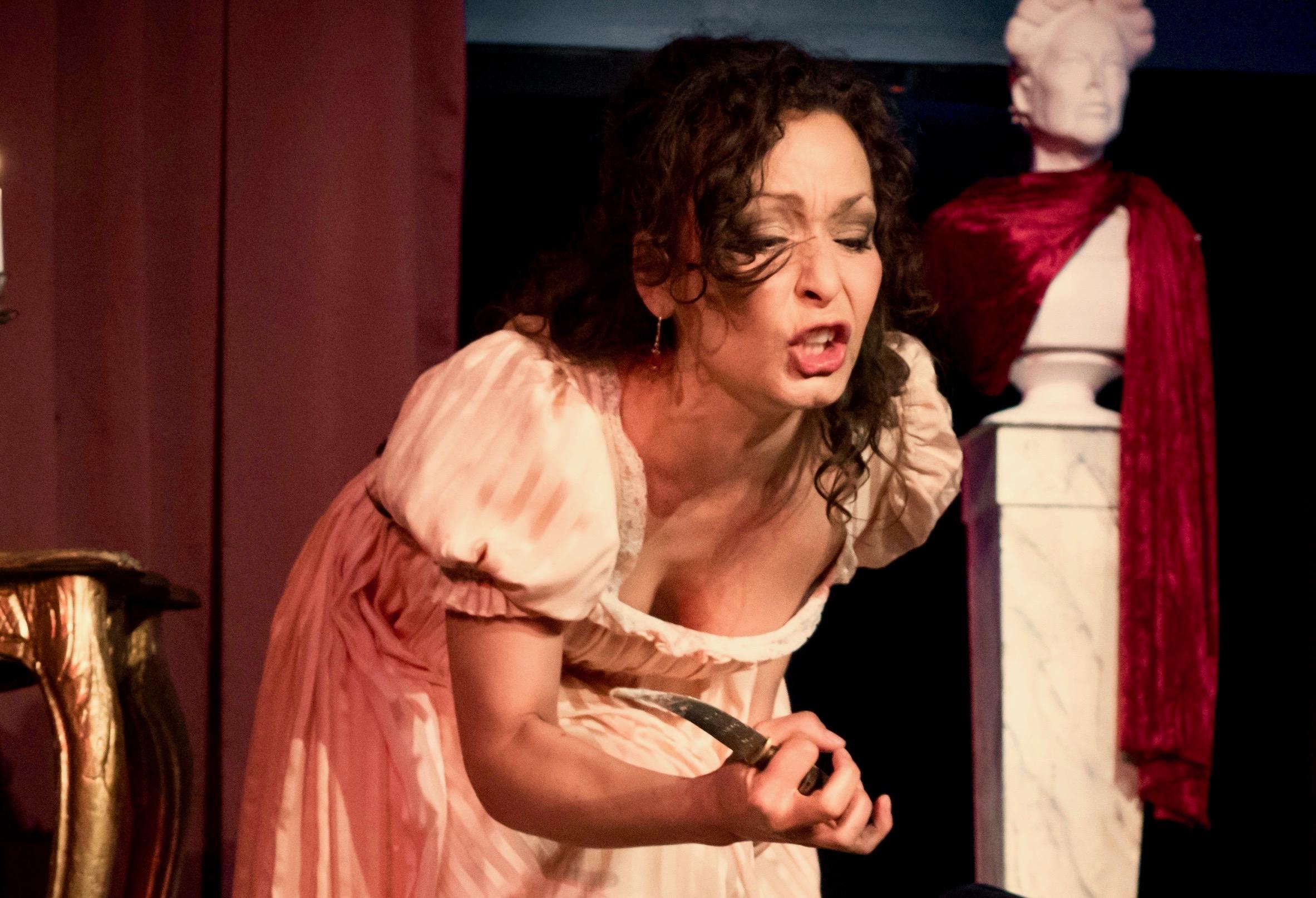 Camilla Illeborg, soprano - Tosca.